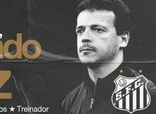 Treinador assinou contrato de um ano com o Peixe (Divulgação Santos)
