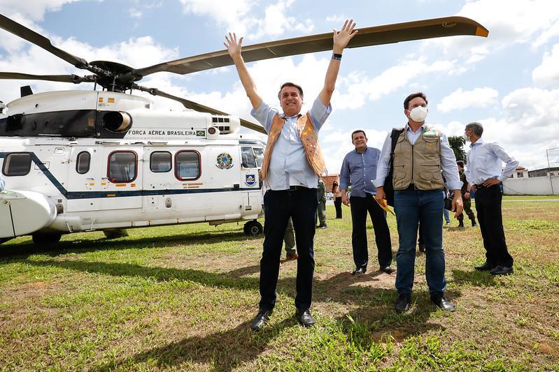 Presidente Bolsonaro é contra o isolamento social