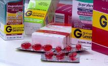 O estudo é baseado em dados de 72 mil pacientes com Covid que tomaram ibuprofeno antes de serem hospitalizados (Reprodução TV Globo)