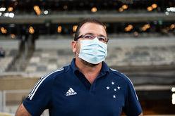 Treinador está internado em hospital de Sete Lagoas (Bruno Haddad/Cruzeiro)