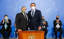 Pazuello disse que seguira ordens do presidente Bolsonaro (Carolina Antunes/PR)