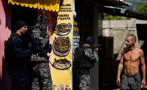 Operação da Polícia Civil começou na manhã de quinta-feira (6) e deixou 27 pessoas mortas (Mauro Pimentel/AFP)