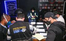 Por descumprir o Plano São Paulo, que proíbe festas na pandemia, o local foi interditado. Os equipamentos de som e uma máquina de cartão de crédito do espaço foram apreendidos (Governo do estado de São Paulo)