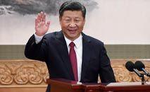O presidente chinês Xi Jinping: questionamento sobre modelo ocidental de democracia (Wang Zhao/AFP)