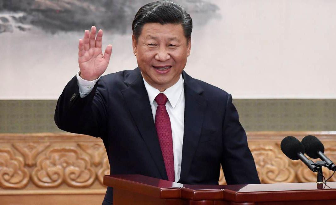 O presidente chinês Xi Jinping: questionamento sobre modelo ocidental de democracia
