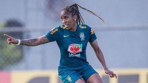 Jogadora da seleção causou polêmica ao comentar morte de Paulo Gustavo (Divulgação CBF)