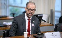 Barra Torres vai falar aos senadores sobre liberação de vacinas (Pedro França/Agência Senado)