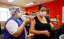 Vacinação contra a Covid-19 em grávidas e puérperas com comorbidades em Manaus (João Viana / Semcom)