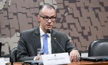 O diretor-presidente da Anvisa, Antonio Barra Torres (Leopoldo Silva/Agência Senado)