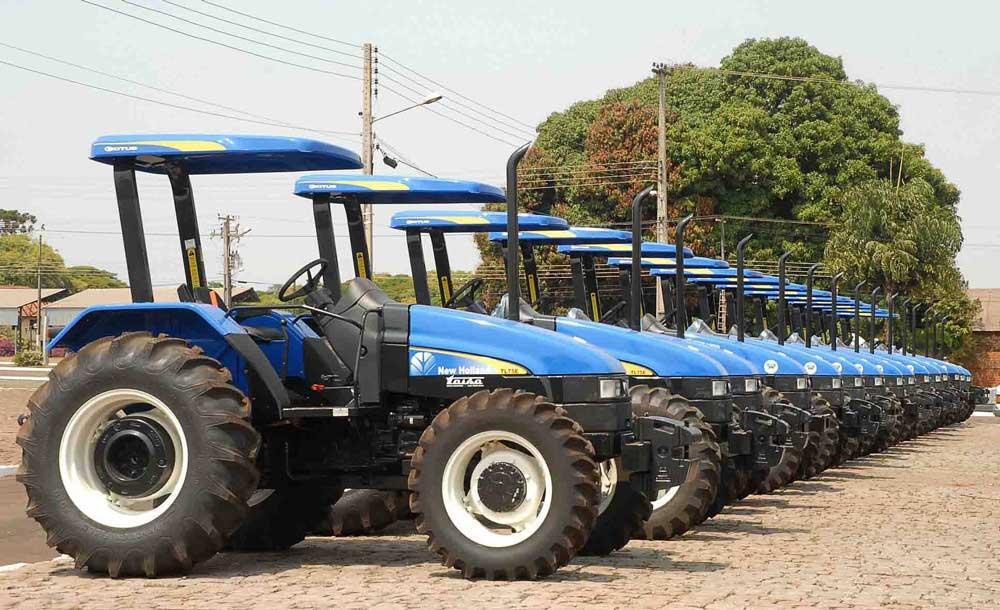 A maior parte das emendas foram destinadas a compra de tratores e equipamentos agrícolas