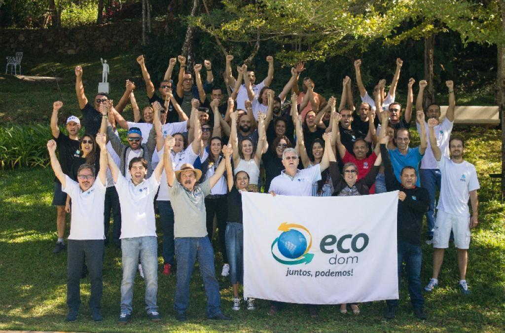 Coordenadores do Movimento Ecos com parceiros em encontro realizado em 2019.