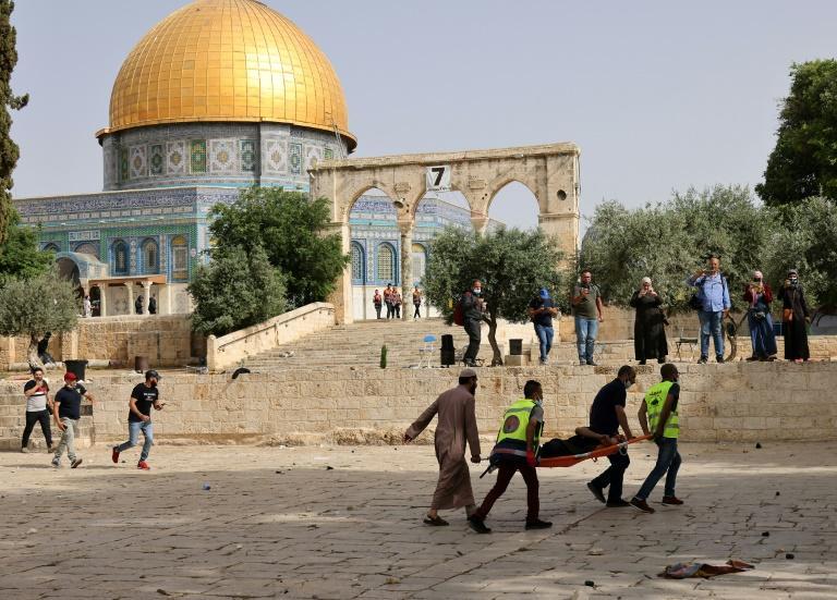 A Esplanada das Mesquitas em Jerusalém