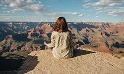 Quero um pôr de sol cearense/ou a ampla visão de canyons infinitos (Unsplash/Matteo Di Iorio)