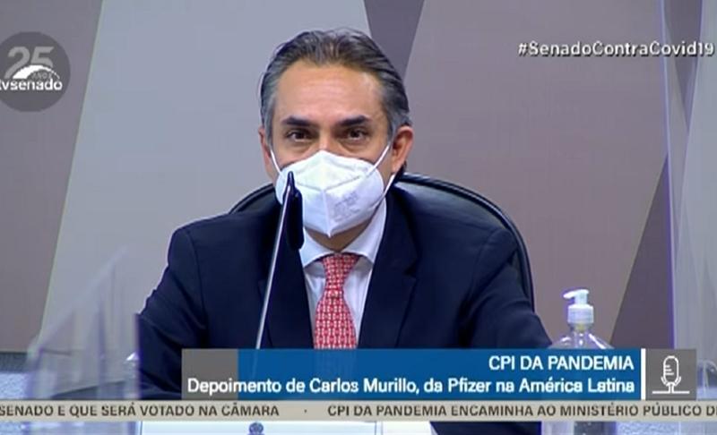 Gerente geral da farmacêutica para a América Latina, Carlos Murillo