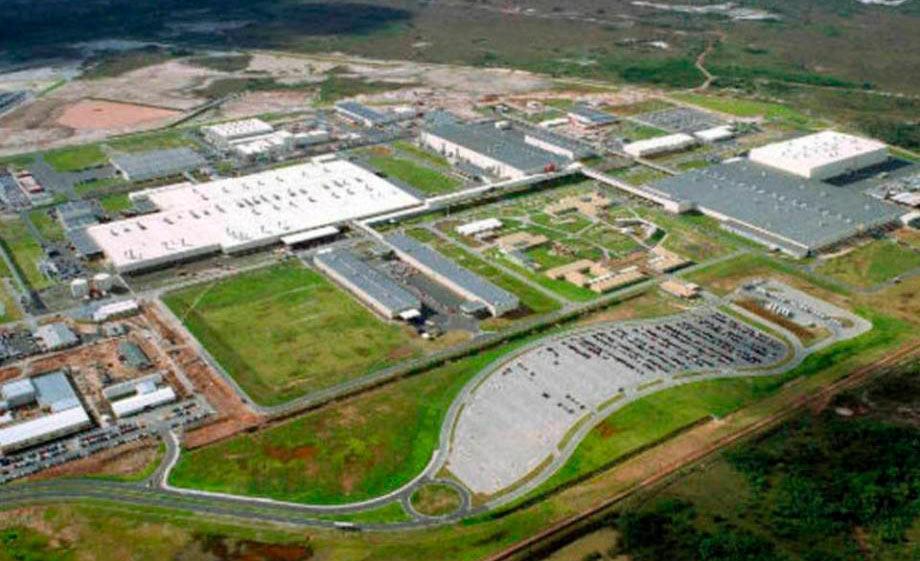 Imagem aérea da fábrica da Ford em Camaçari, na Bahia: acordo aceito por unanimidade