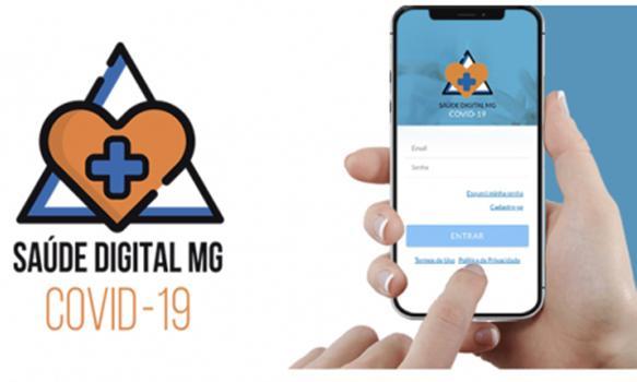 O  aplicativo Saúde Digital já é usado para dar suporte aos pacientes com Covid-19 e a funcionalidade da vacinação será disponibilizada de agora até 18 de maio para adesão dos municípios