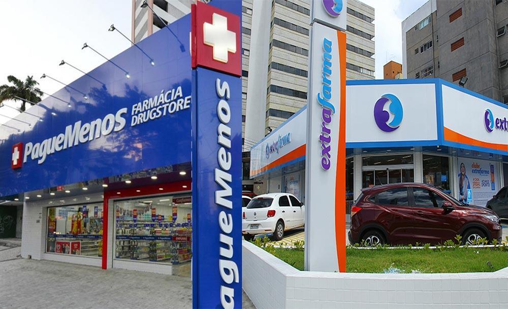 A aquisição da Extrafarma aumentaria em mais de um terço o número de lojas da Pague Menos