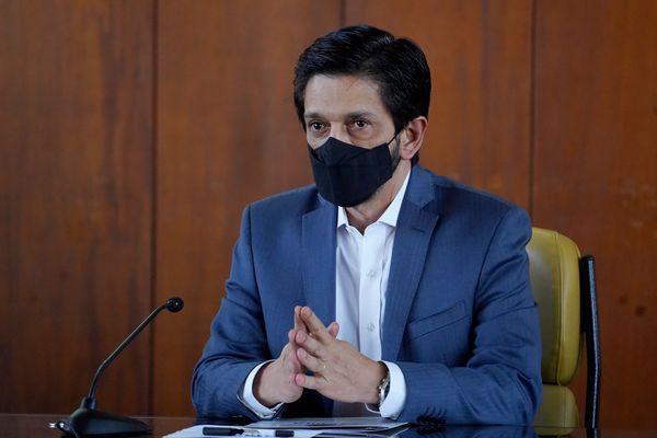 O novo prefeito de São Paulo, Ricardo Nunes (MDB)