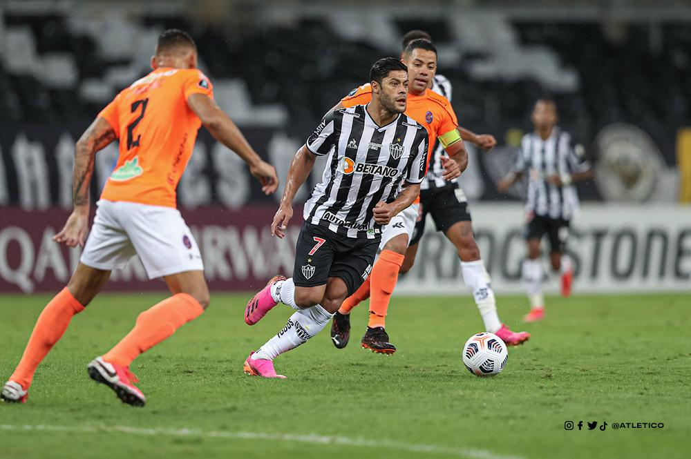 Galo goleou por 4 a 0 o La Guaira, no Mineirão