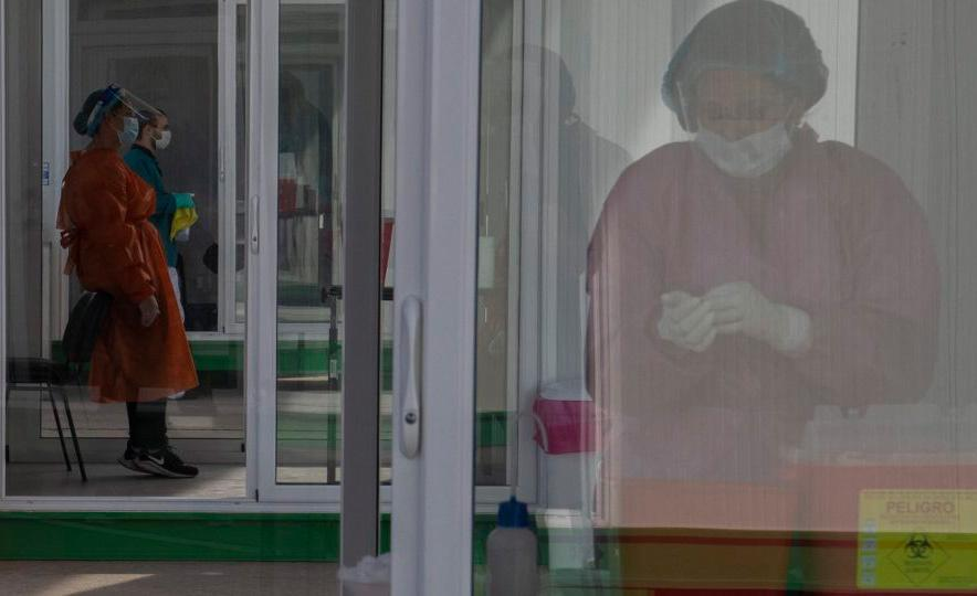 Uruguai voltou a registrar aumento de casos de Covid nas últimas semanas