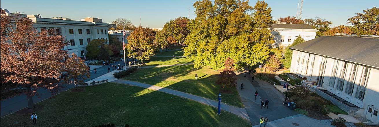 Competição é organizada anualmente pela American University (foto), em Washington.