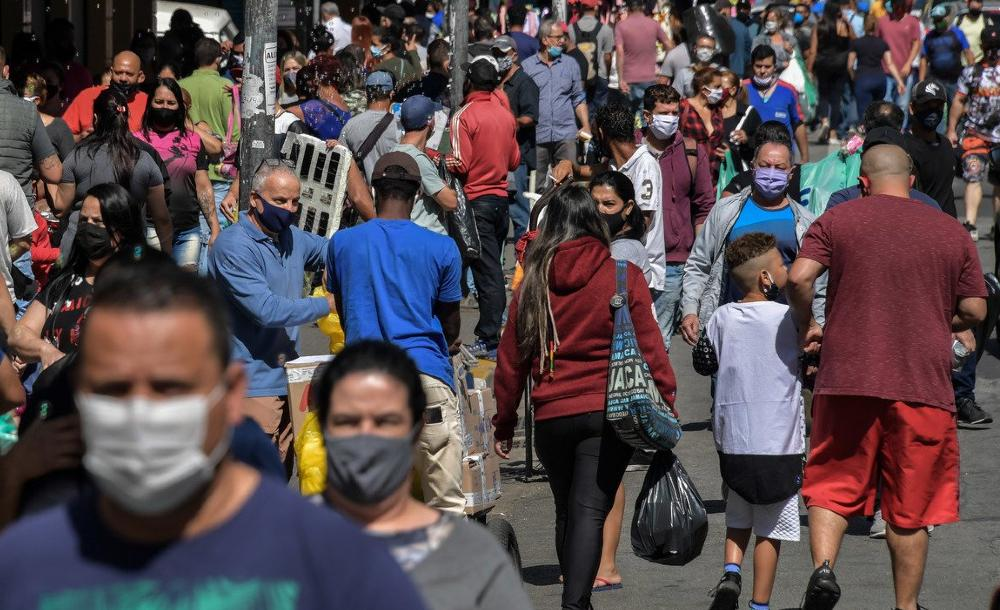 Em dois dos seis pontos considerados em Belo Horizonte a concentração de novo coronavírus se manteve elevada