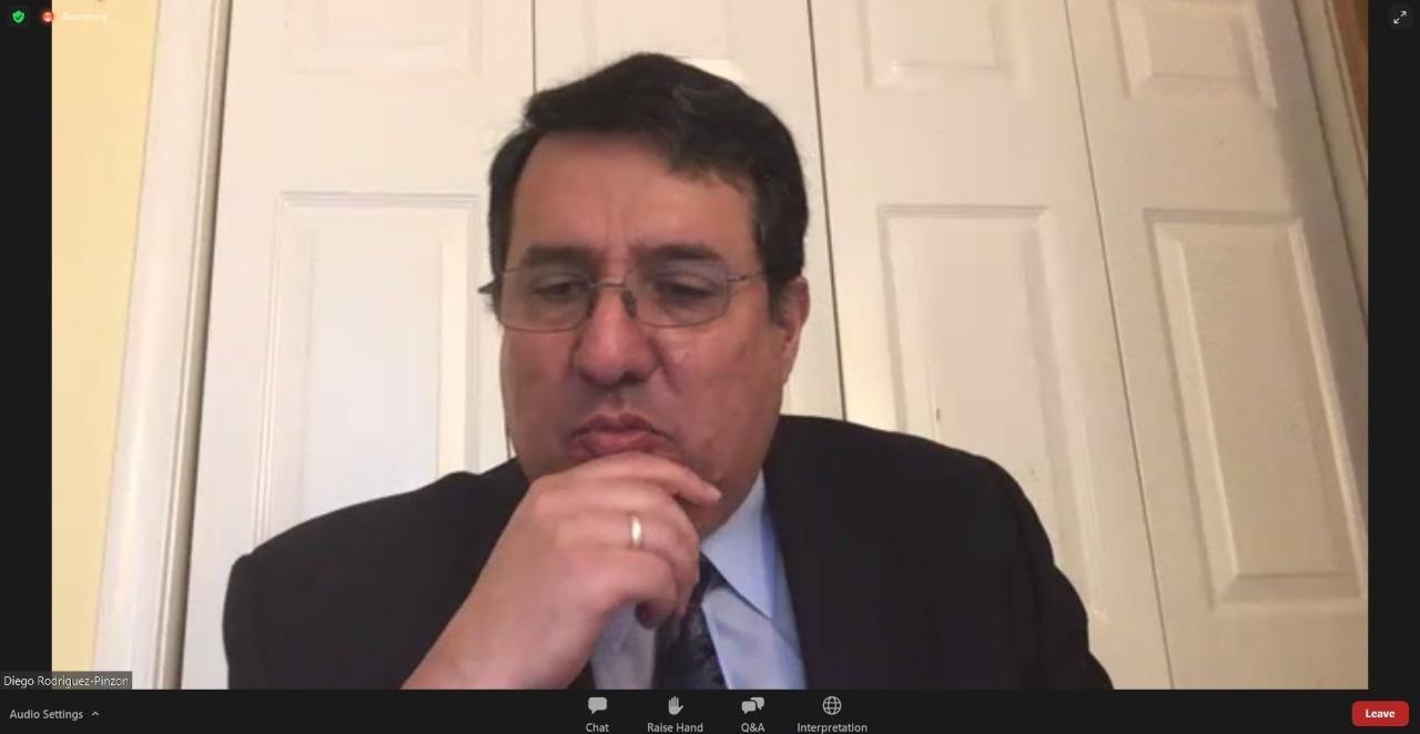 Diego Rodriguez, juiz da 26ª IAMOOT.