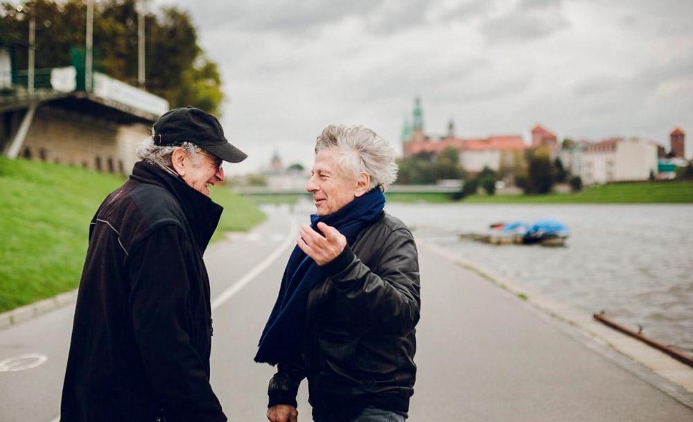 Roman Polanski retorna à Cracóvia com seu amigo e sobrevivente do  Holocausto Ryszard Horowitz