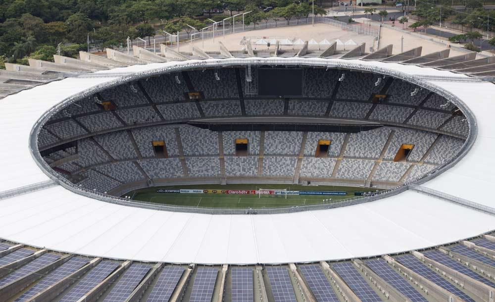 O Mineirão poderá ser um dos estádios para sediar a Copa América, mas cresce o descontentamento