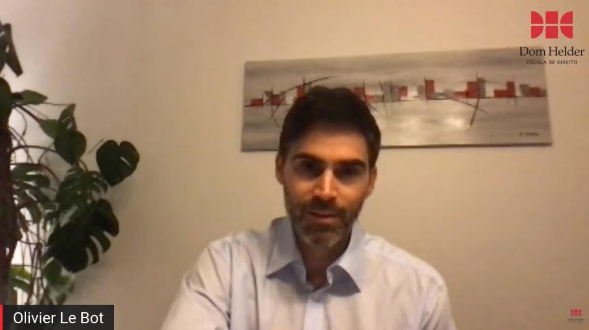 Professor Olivier Le Bot, da Faculdade de Direito de Aix-Marseille