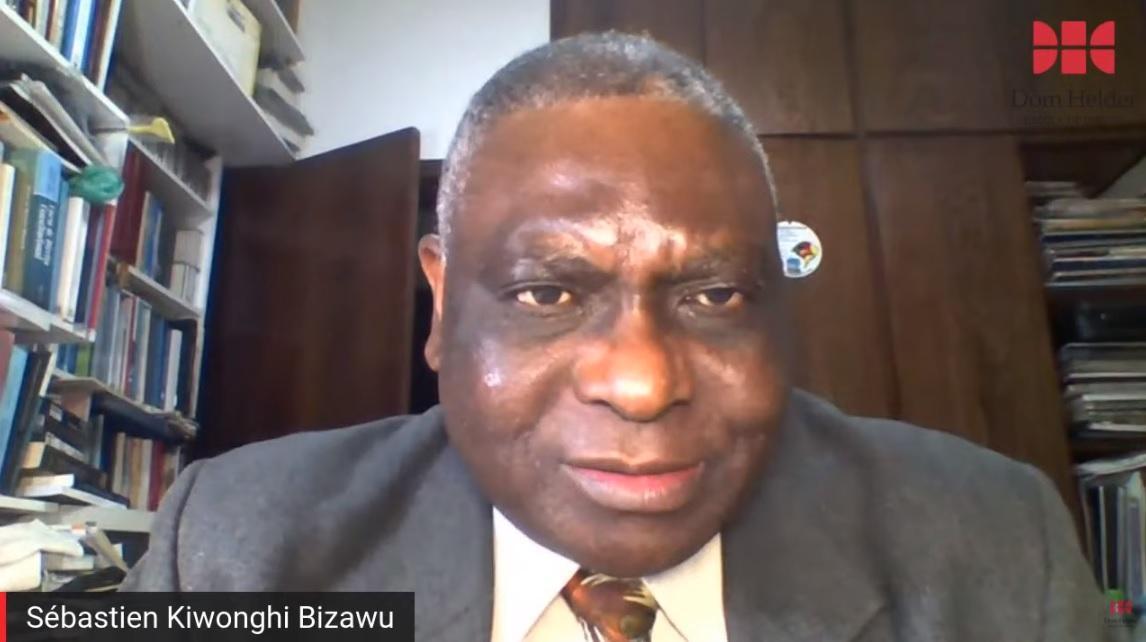 Professor Sébastien Kiwonghi Bizawu, da Dom Helder