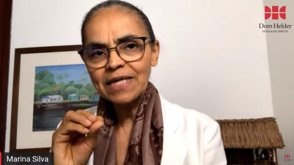 Ex-ministra Marina Silva participa de live promovida pela Dom Helder nesta sexta-feira (4)