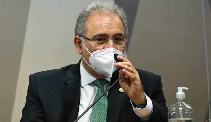Ministro Marcelo Queiroga prestou depoimento à CPI da Pandemia em 6 de maio