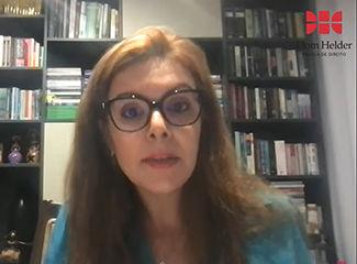 Andressa Lanchotti, Promotora de Justiça do Ministério Público de Minas Gerais (MPMG), uma das convidadas da live. (Necom Dom Helder e EMGE)