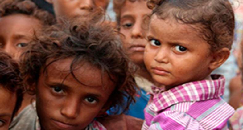 Estima-se que 45% das mortes anuais de crianças com menos de 5 anos são provocadas pela fome (AFP)