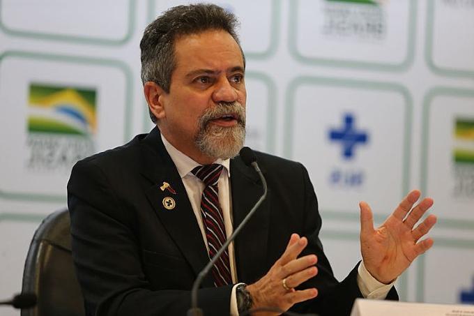 O ex-secretário-executivo da Saúde coronel Élcio Franco