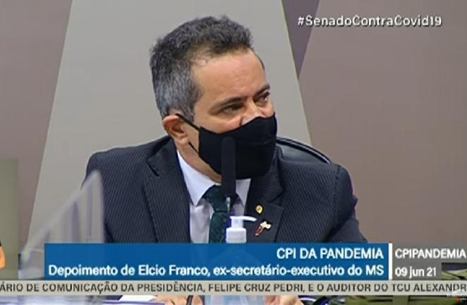 O ex-secretário do Ministério da Saúde Élcio Franco