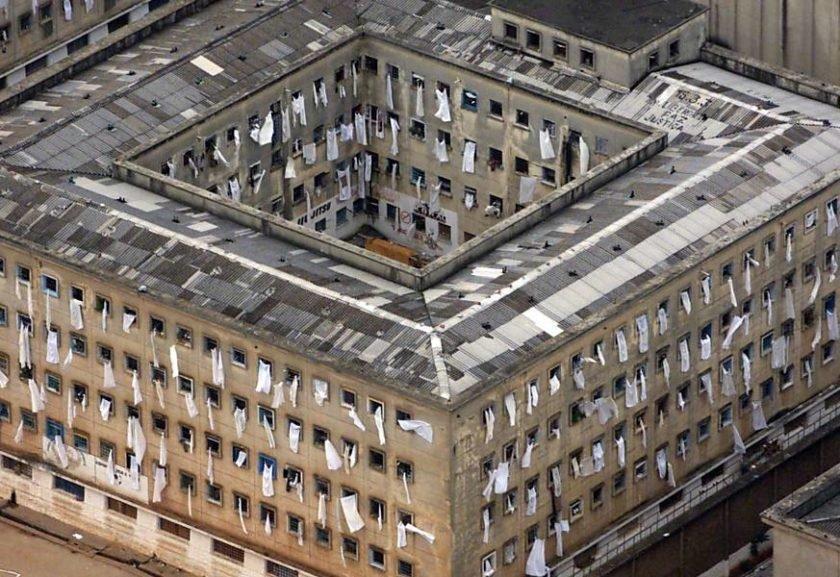 A antiga casa de detenção, em São Paulo: 111 detentos morreram em ação em 1992