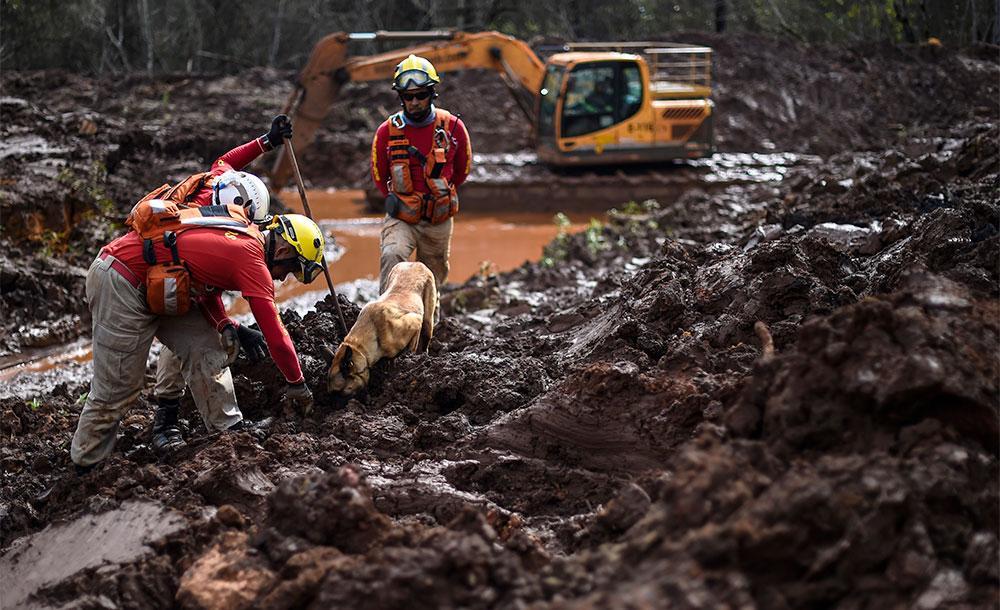 O derramamento de rejeitos de minério em 25 de janeiro de 2019 causou a morte de 270 pessoas