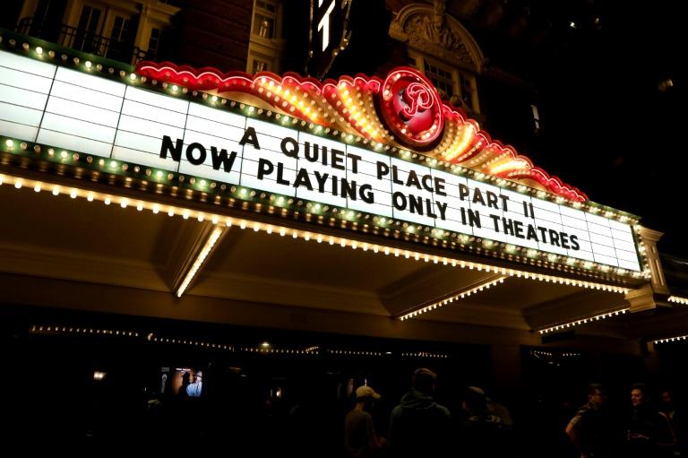 Exibição de 'Um Lugar Silencioso 2' no The Paramount Theatre, em 28 de maio de 2021, em Austin, Texas