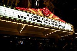 Exibição de 'Um Lugar Silencioso 2' no The Paramount Theatre, em 28 de maio de 2021, em Austin, Texas (Rick Kern/afp)