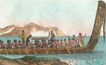 Estudo utilizou estampas, vasos e inscrições maoris para compilar relatos de expedições (Corbis/GettyImages/AFP)