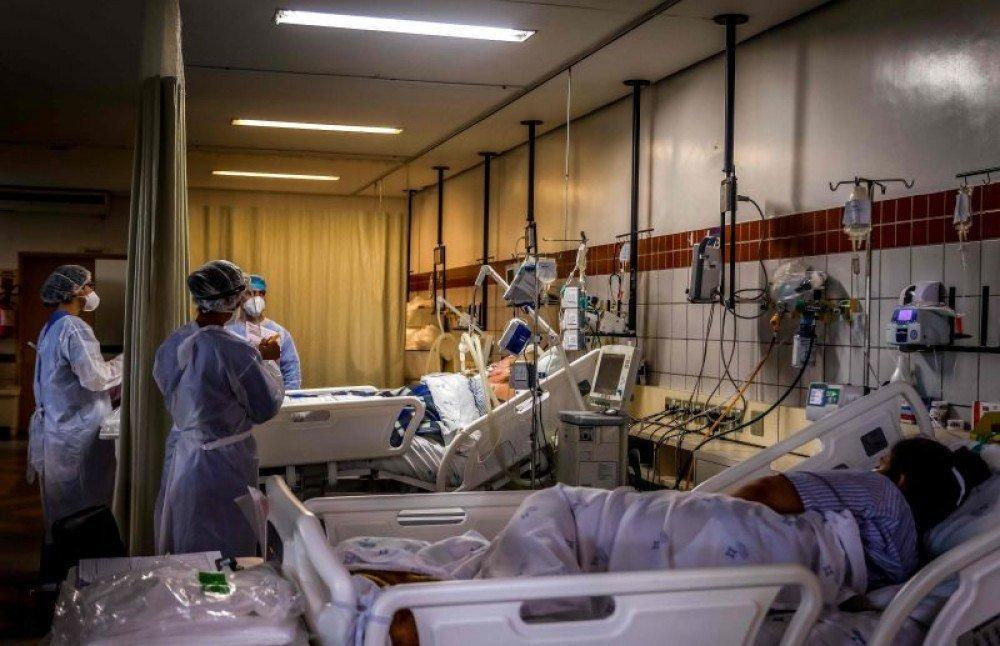 Nas últimas 24 horas, o país registrou 1.118 novas vítimas da pandemia