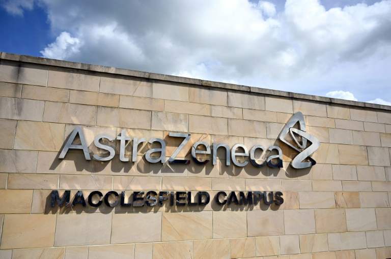 Unidade do grupo AstraZeneca em Macclesfield, região central da Inglaterra