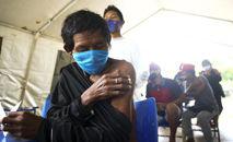Segunda dose do imunizante foi aplicada em 71% desse público (Abr)