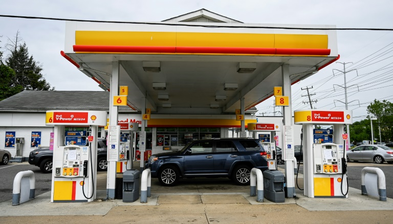 Posto de gasolina em Arlington, Virgínia, nos EUA