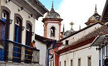 Com acordo, podem ser beneficiados os bens inseridos em cidades com conjuntos urbanos tombados, a exemplo de Ouro Preto (MG) (Unsplash/Jade Marchand)