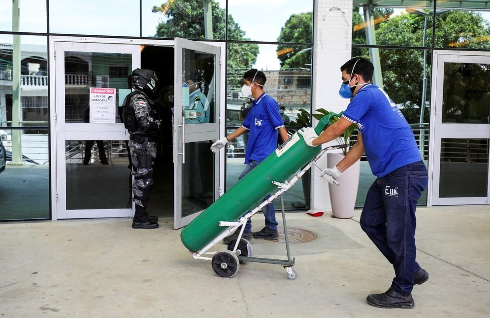 Pacientes morreram no estado por falta de oxigênio hospitalar