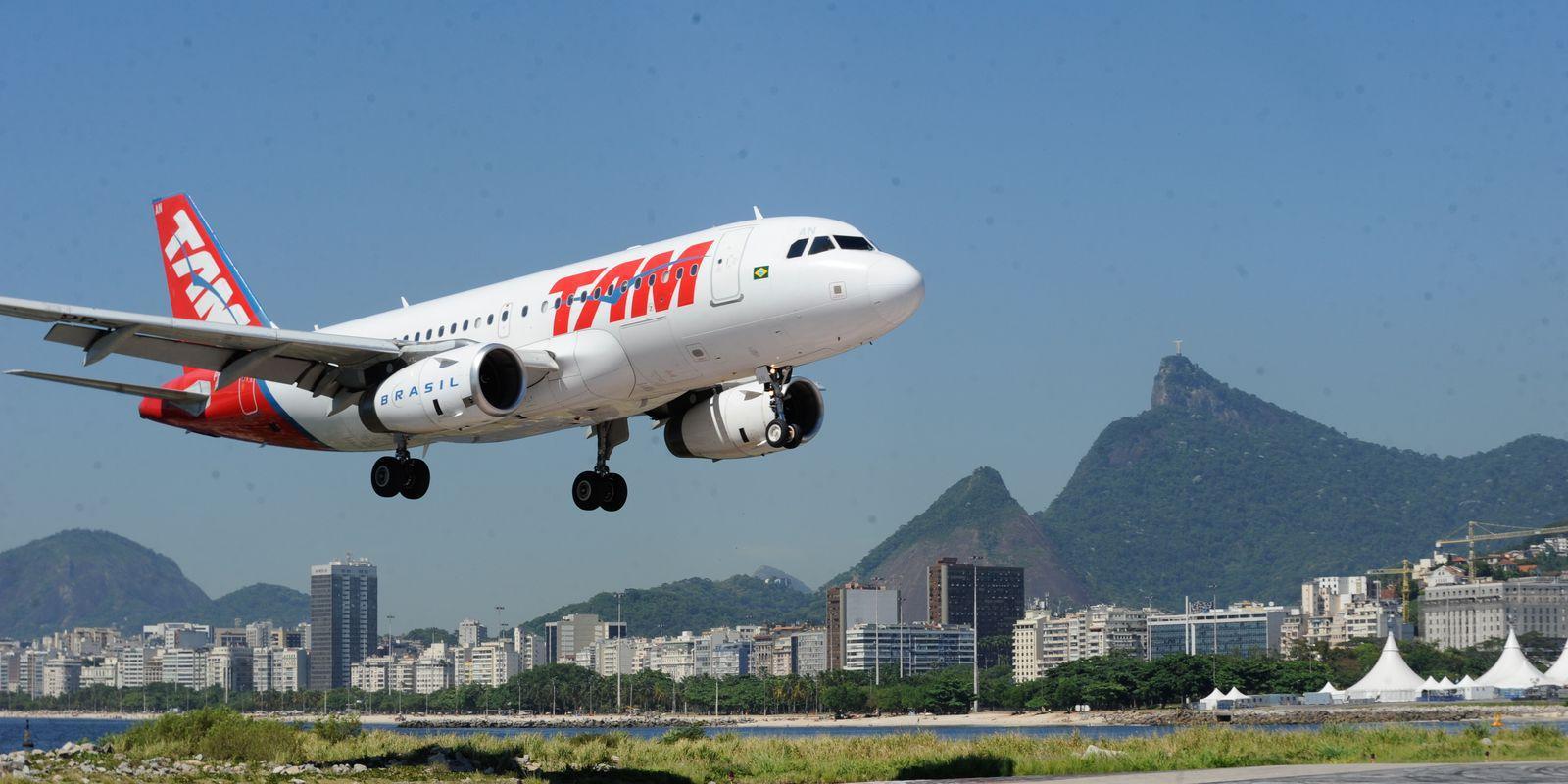 A ligação aérea entre essas duas capitais é a quinta de maior movimento no mundo
