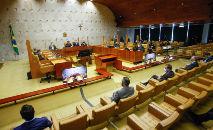 Ministros deram decisões diferentes sobre pedidos da CPI (Fellipe Sampaio/SCO/STF)